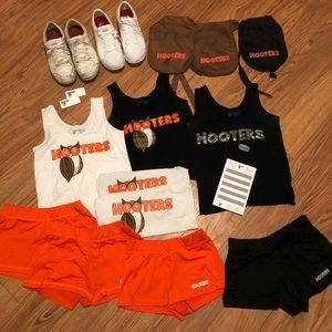 Hooters Girl Uniform Bundle